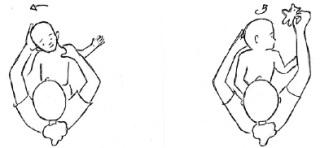 Imagen Ejercicios en Torticolis Muscular Izquierda